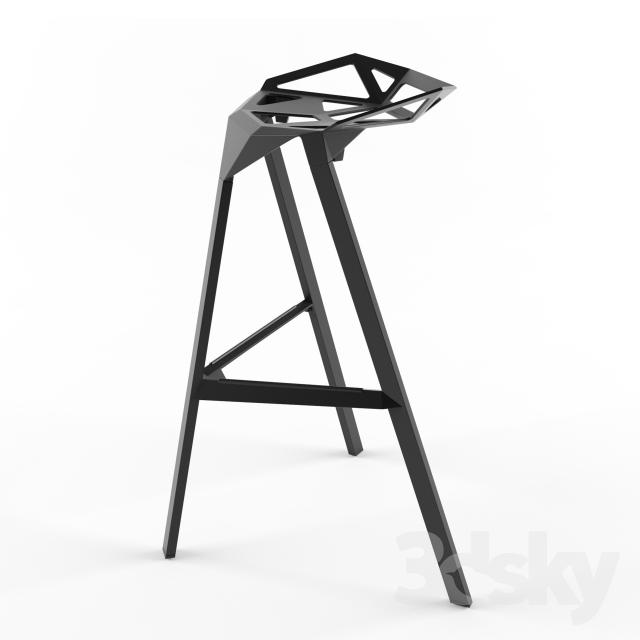 3d Models Chair Magis Stool One