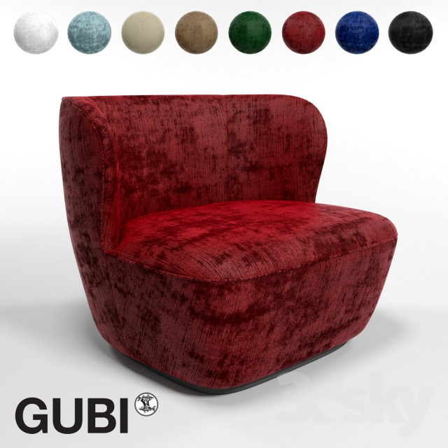 GUBI Stay Large Lounge Chair