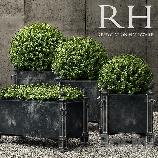 3d Models Plant Restoration Hardware Versailles