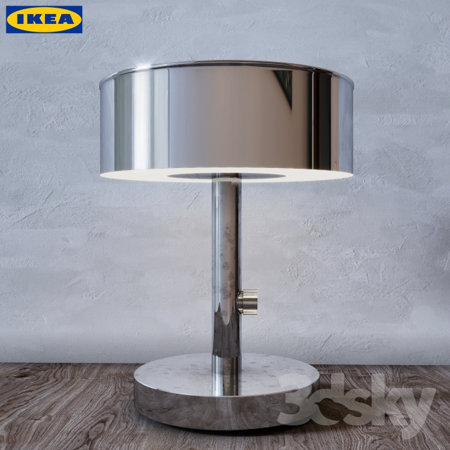 3d models table lamp table lamp ikea stockholm 2017. Black Bedroom Furniture Sets. Home Design Ideas