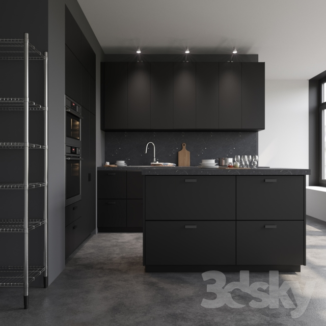 Kitchen Design 3d Model: 3d Models: Kitchen