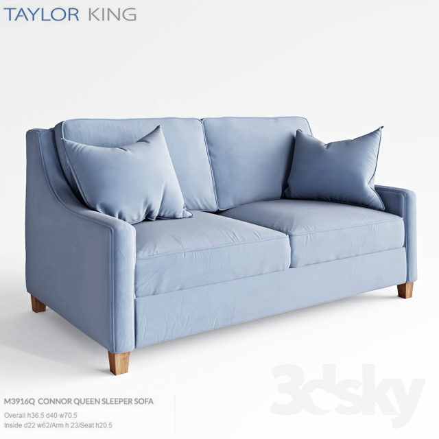 Taylor King Connor Queen Sleeper Sofa M3916q