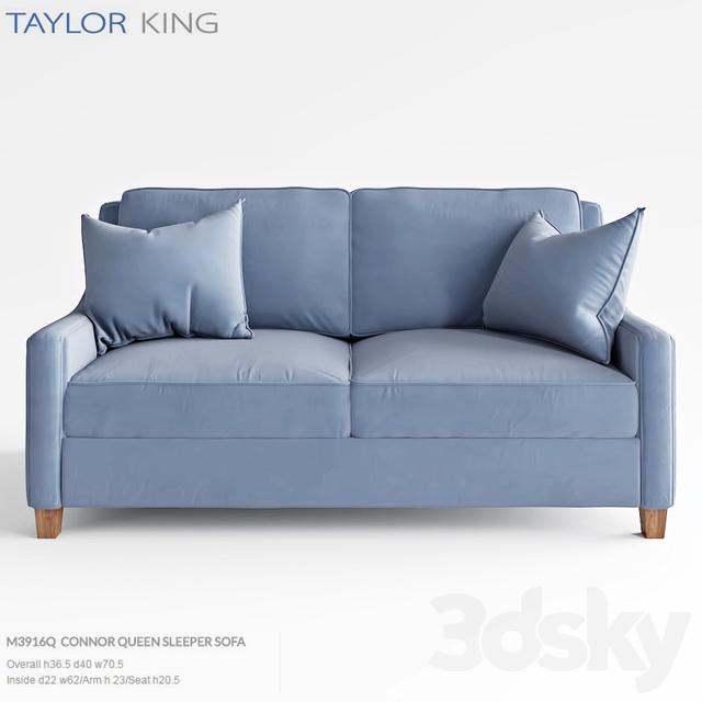 Taylor King Connor Queen Sleeper Sofa M3916q Smax 2017 Fbx Corona