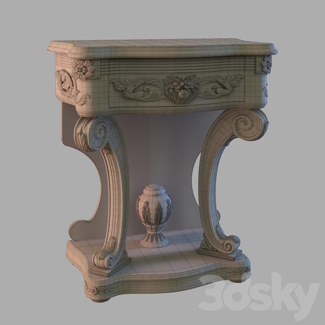 3d models sideboard chest of drawer bedside tables - Mobili d arte ...