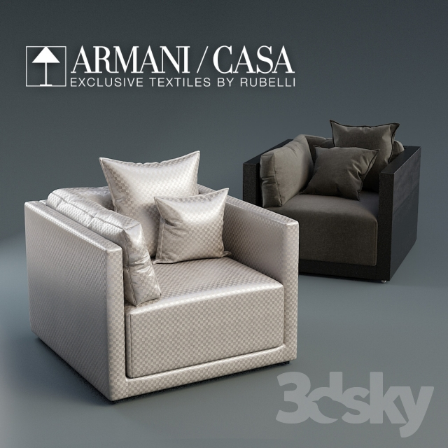 4f093cceaa74 Models Arm Chair Armani Casa Sydney