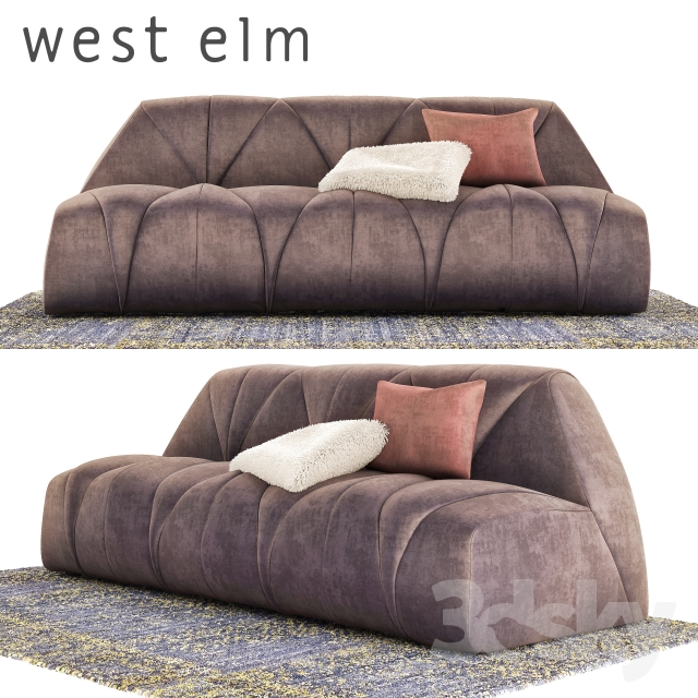 West elm-Vince Tufted Sofa