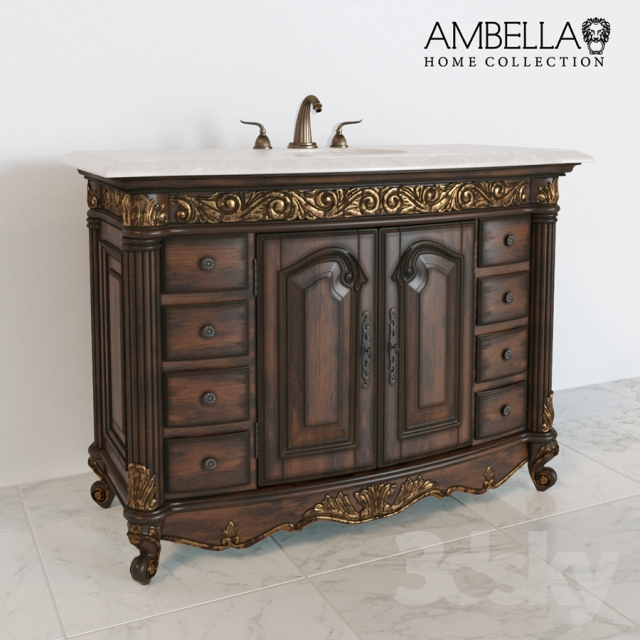 Ambella Sink Chest Ambella Kingston Sink Chest Bath