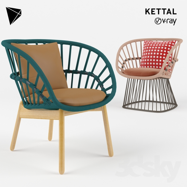 3d models Chair Kettal Cala Dining Chair : 115671859444da9663aa from 3dsky.org size 640 x 640 jpeg 205kB