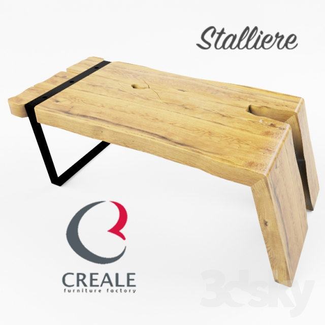 3d Models Table A Set Of Coffee Tables Chicago Reale Stalliere