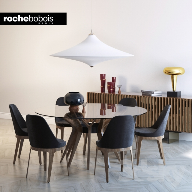 Models Table Chair Roche Bobois Aster Tournicoti Palis Sideboard Aire Suspension