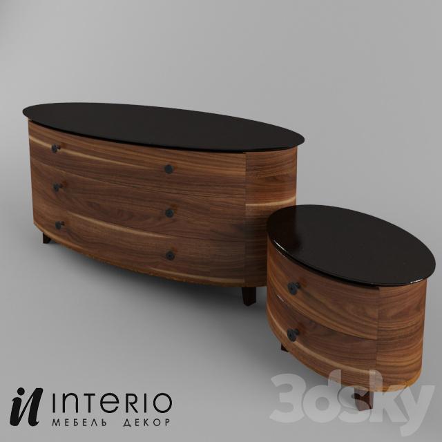 3d Models Sideboard Chest Of Drawer Interio Mebel Komod K 2 0