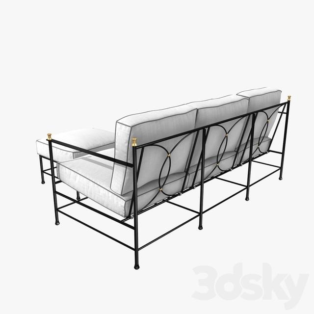 3d models sofa one kings lane outdoor frances sofa and for One kings lane outdoor furniture
