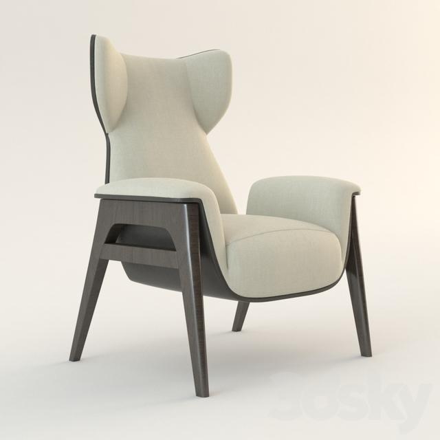 3d Models Arm Chair Fendi Casa Cerva Arm Chair