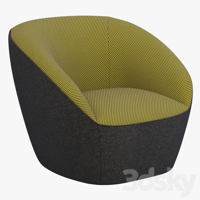 Roche Bobois Edito armchair