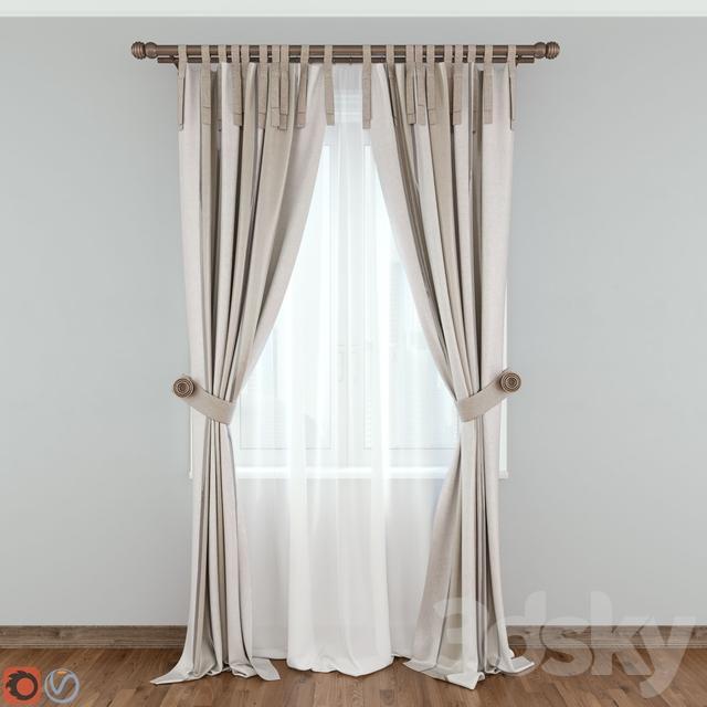 Modern Curtain №10