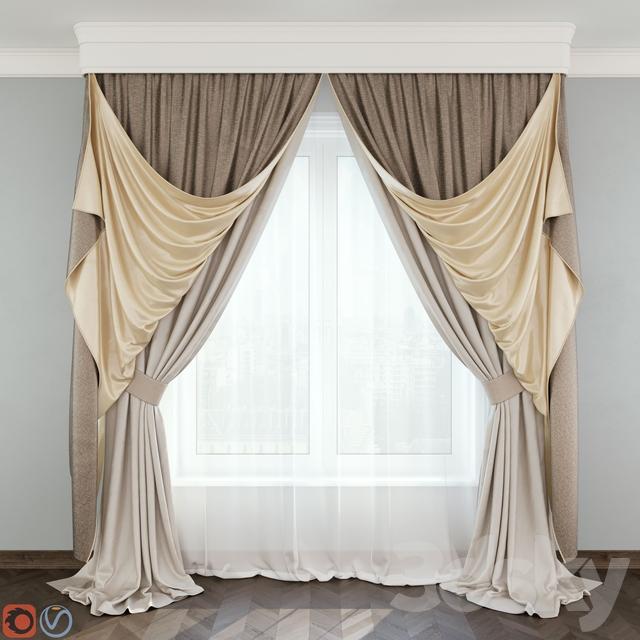 Classic curtain №5