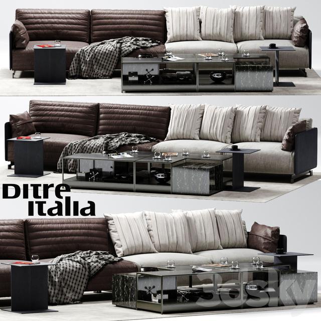 3d Models Sofa Ditre Italia Bag Sofa