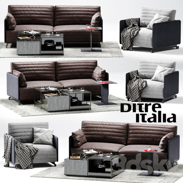 3d Models Sofa Ditre Italia Bag Sofa 02