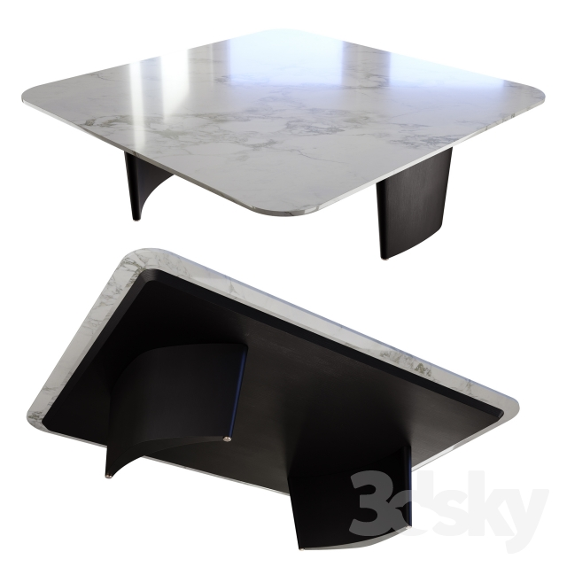 3d Models Table Minotti Song Coffee Tables