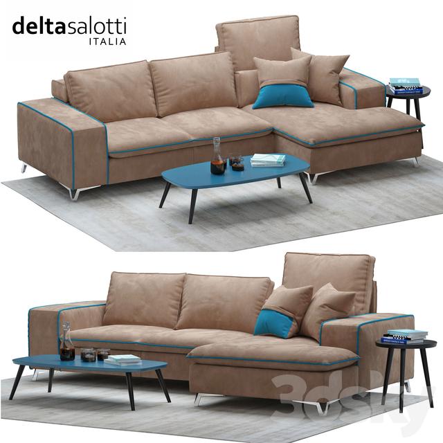 Delta Salotti Rivenditori.3d Models Sofa Sofa Delta Salotti Frame