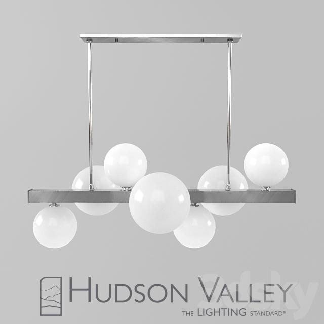 Hudson Valley Lighting Mini Hinsdale: 3d Models: Ceiling Light