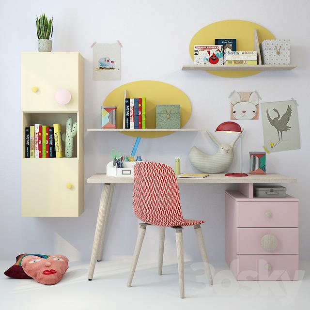Children's furniture Nidi 01