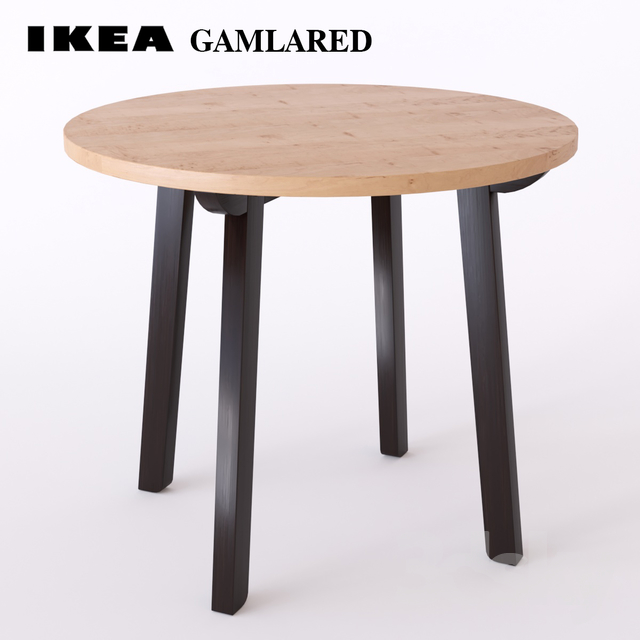 3d models table table ikea gamlared. Black Bedroom Furniture Sets. Home Design Ideas