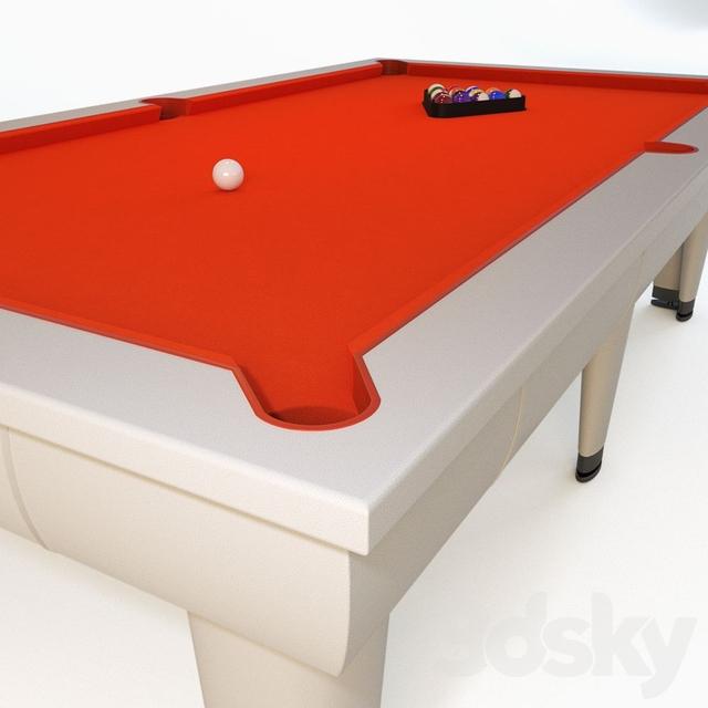 3d models billiards billiards lu bo biliardi for Show zfs pool version