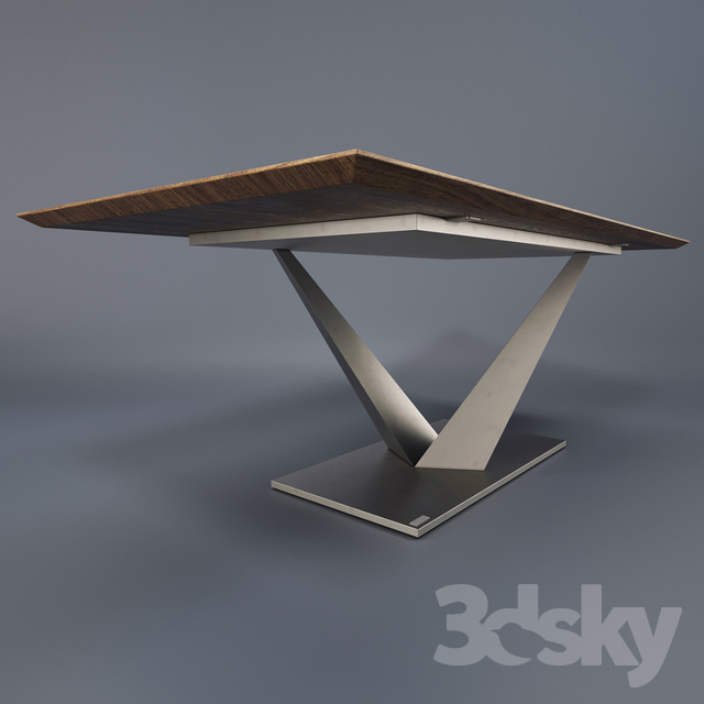 3d Models: Table   Miotto Selections Orsini Dining Table