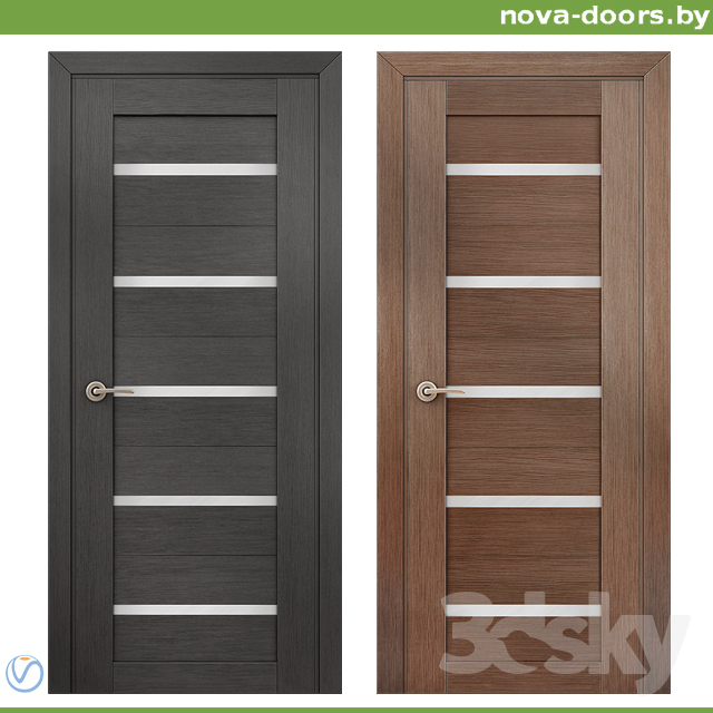 3d Models Doors Doors Of Dominic Eco Wool 7x Wenge