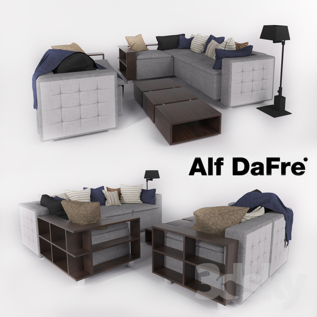 3d Models Sofa Comfortable Sofa In A Modern Style Alf