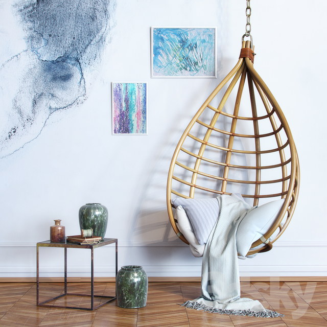 Bamboo Hanging Chair