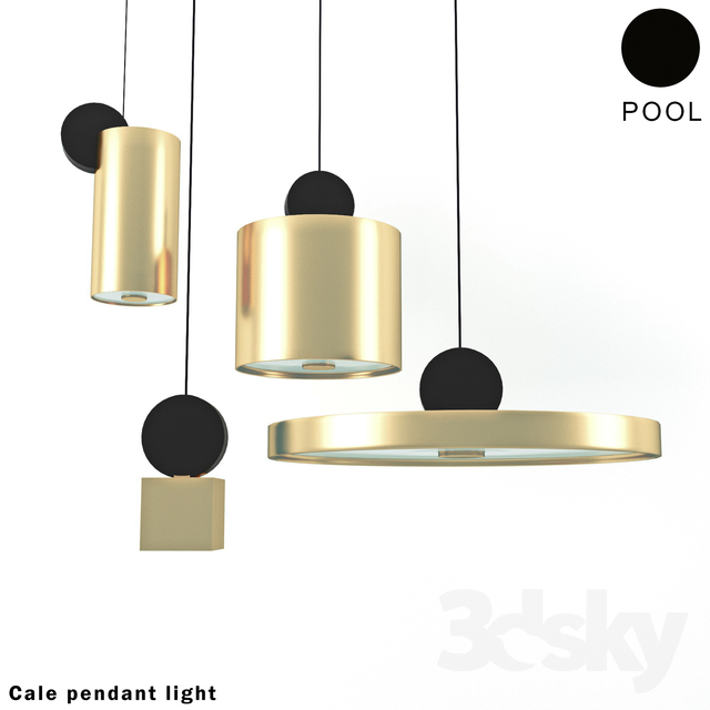 3d Models Ceiling Light Cal 233 E Pendant Light