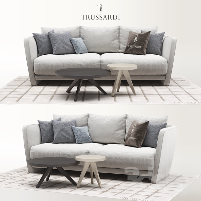 Trussardi Casa Lightshell Sofa set