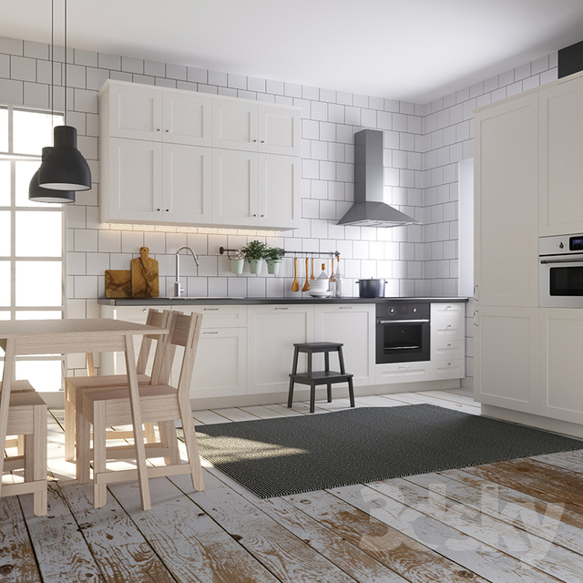 3d Models Kitchen Kitchen Ikea Sovedal Sävedal
