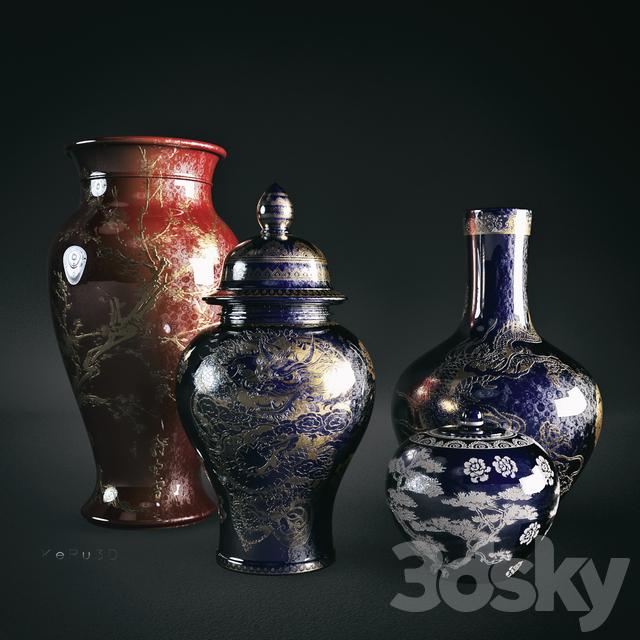 3d Models Vase Antique Vases
