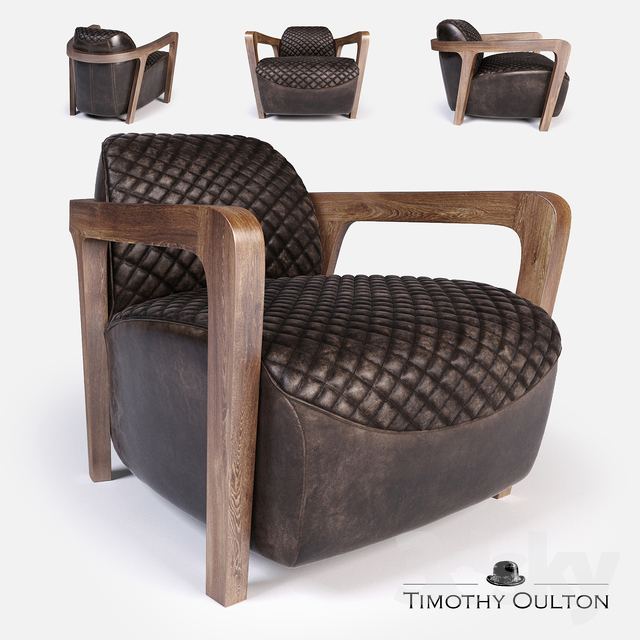 Excellent 3D Models Arm Chair Wildcat Armchair Timothy Oulton Onthecornerstone Fun Painted Chair Ideas Images Onthecornerstoneorg