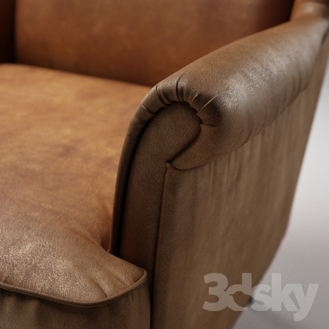 3d Models: Arm Chair   IKEA, STRANDMON, Wing Chair