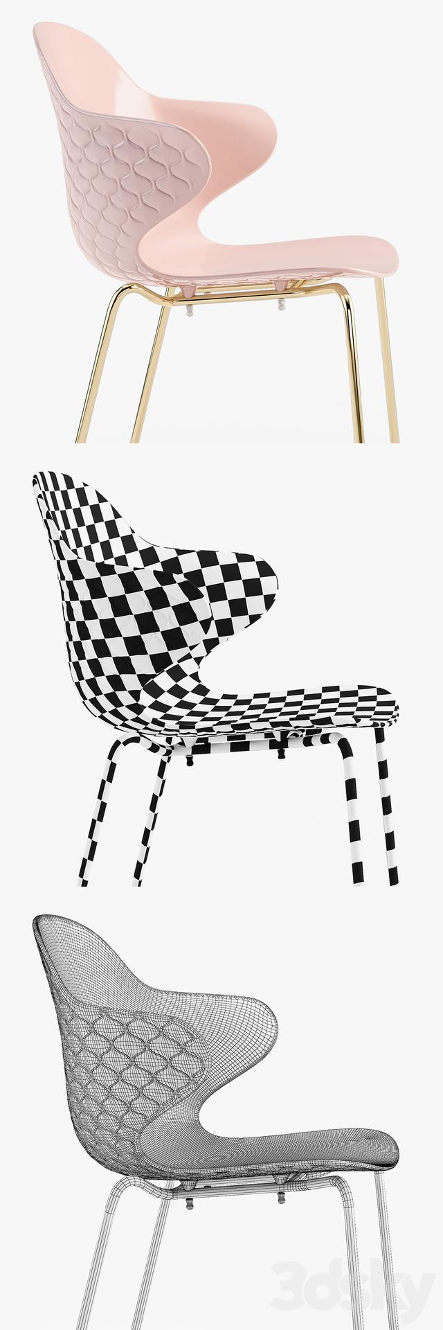 3d models chair calligaris saint tropez chair for Calligaris saint tropez