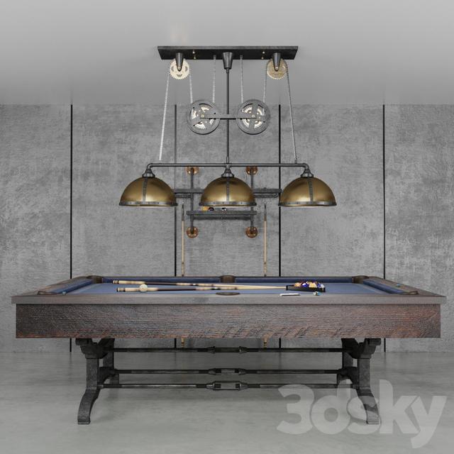 3d models billiards brunswick birmingham 8 ft pool table for Pool show birmingham