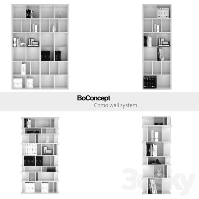 3d models wardrobe display cabinets boconcept como. Black Bedroom Furniture Sets. Home Design Ideas