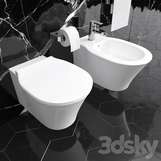 Ideal Standard Bidet Connect.3d Models Toilet And Bidet Ideal Standard Connect Air Wc