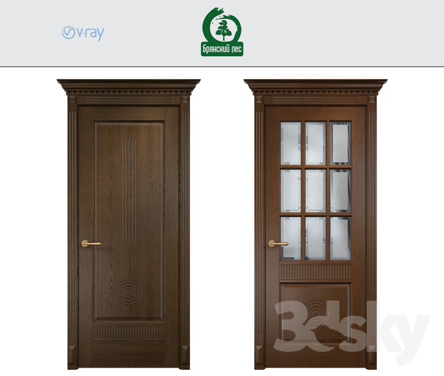 "Interior doors ""Bryansk Forest"""