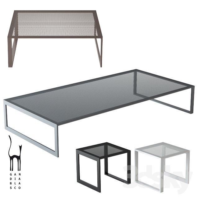 GANDIABLASCO / Blau Low Table