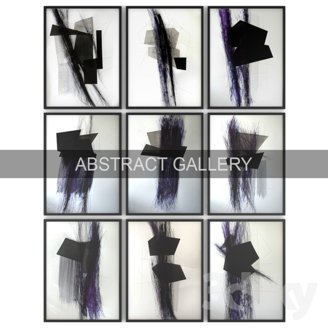 Paintings abstract | set 44