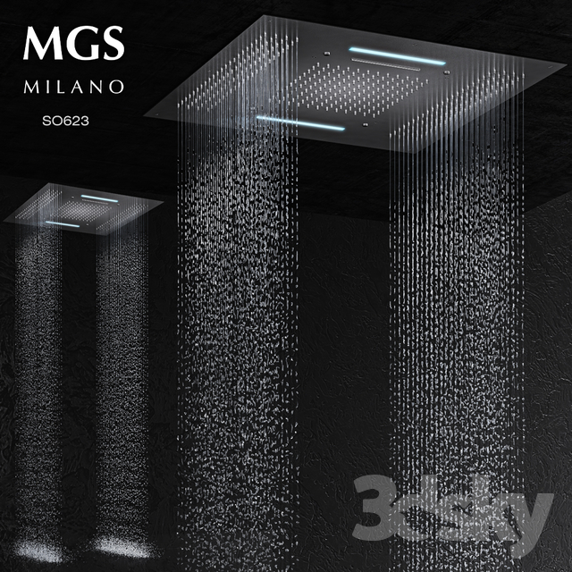 MGS milano SO623 rain shower