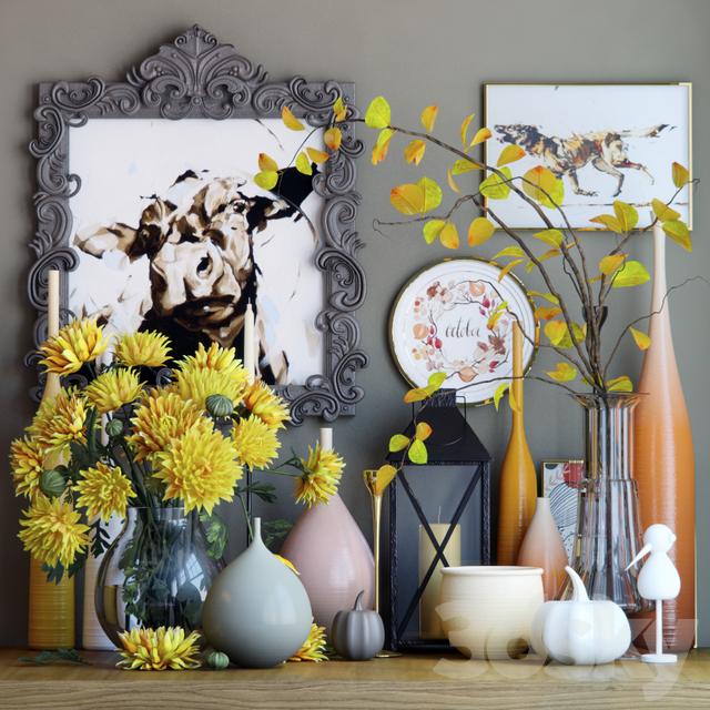 Autumn decorative set 4