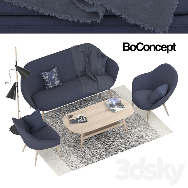 Outstanding 3D Models Sofa Boconcept Adelaide Furniture Machost Co Dining Chair Design Ideas Machostcouk