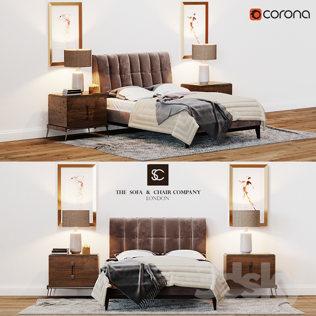 The Sofa U0026 Chair Company Alexandr Bed