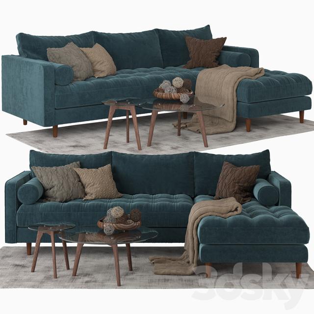 Article_Sven sectional sofa